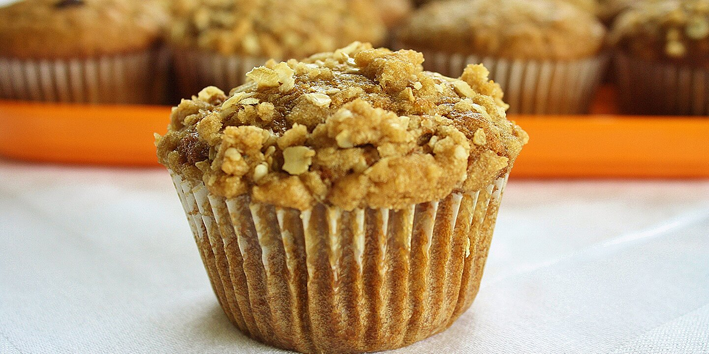 pumpkin muffins with streusel topping recipe