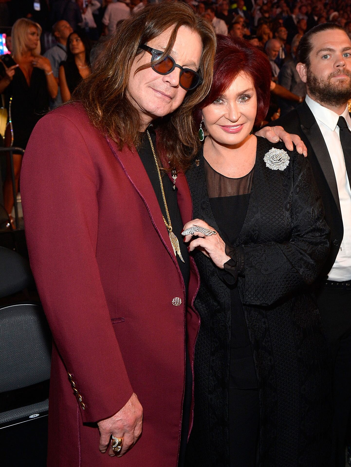 Sharon Osbourne Reveals Husband Ozzy Cheated On Her With Six Women People Com