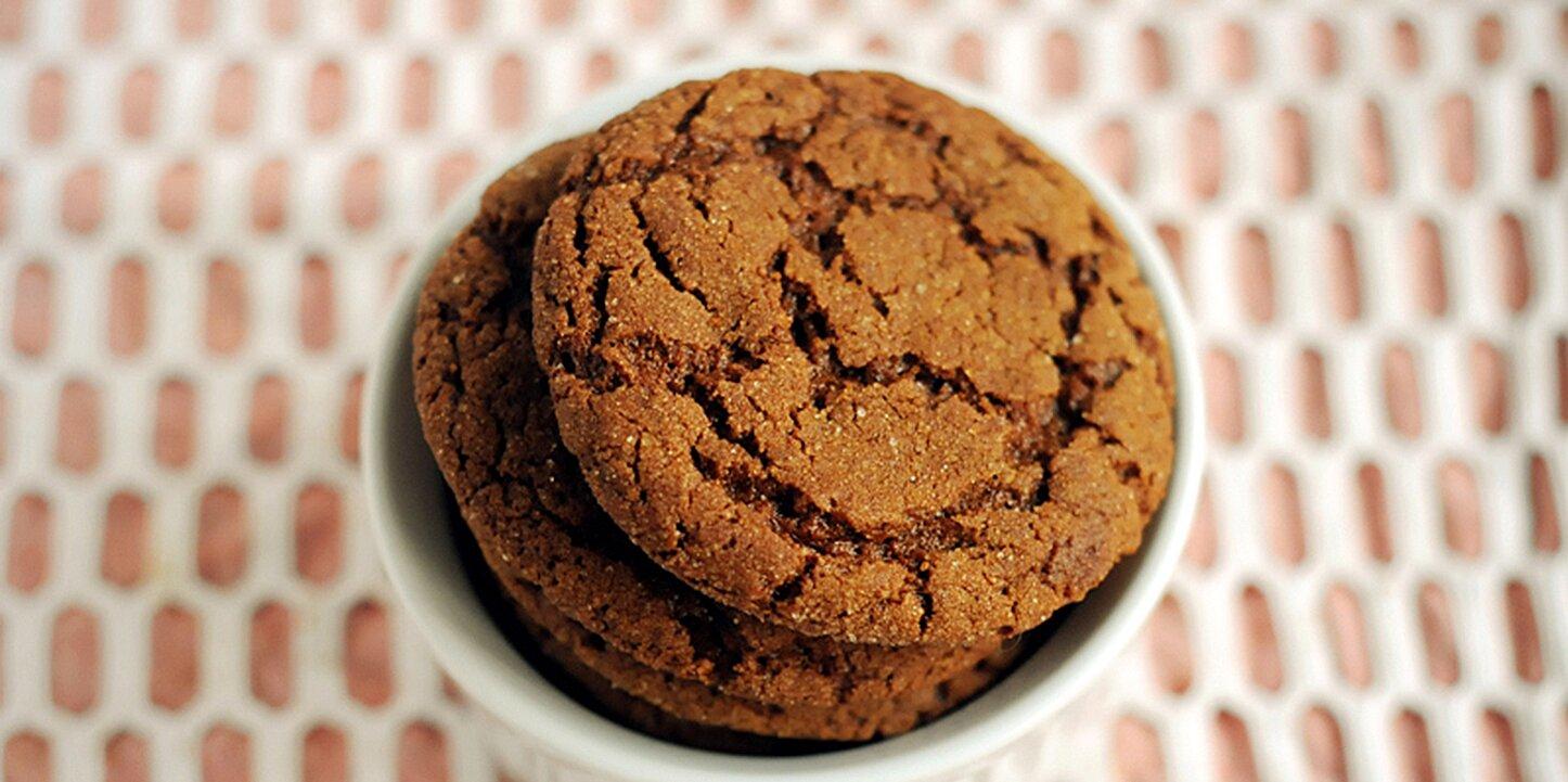 recipes big soft ginger cookies