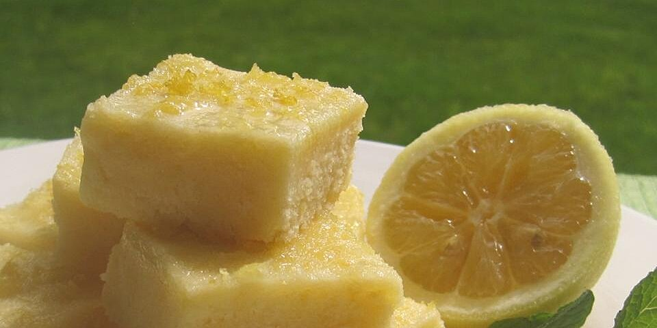 lemon squares iii recipe