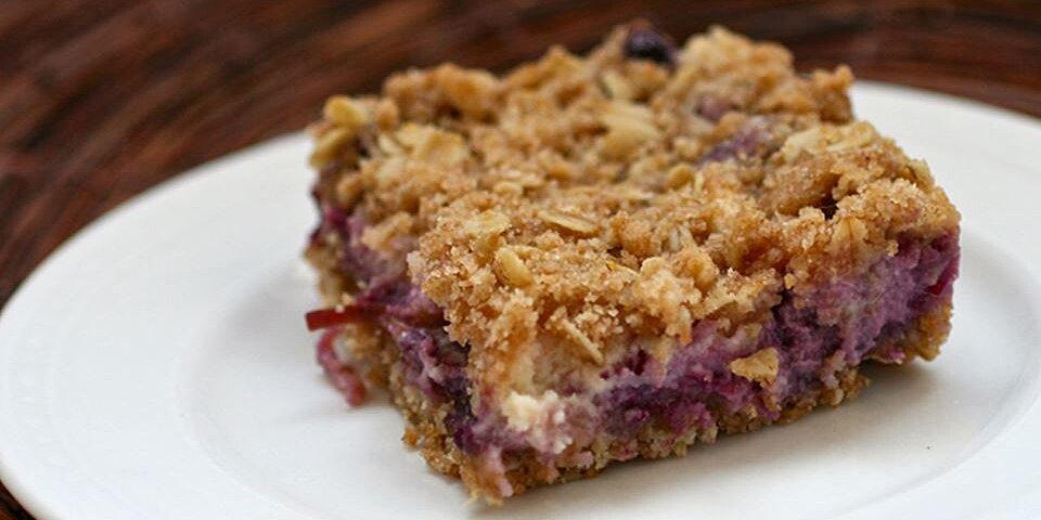 blueberry oat dream bars recipe