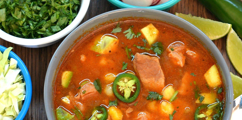 instant pot red posole recipe