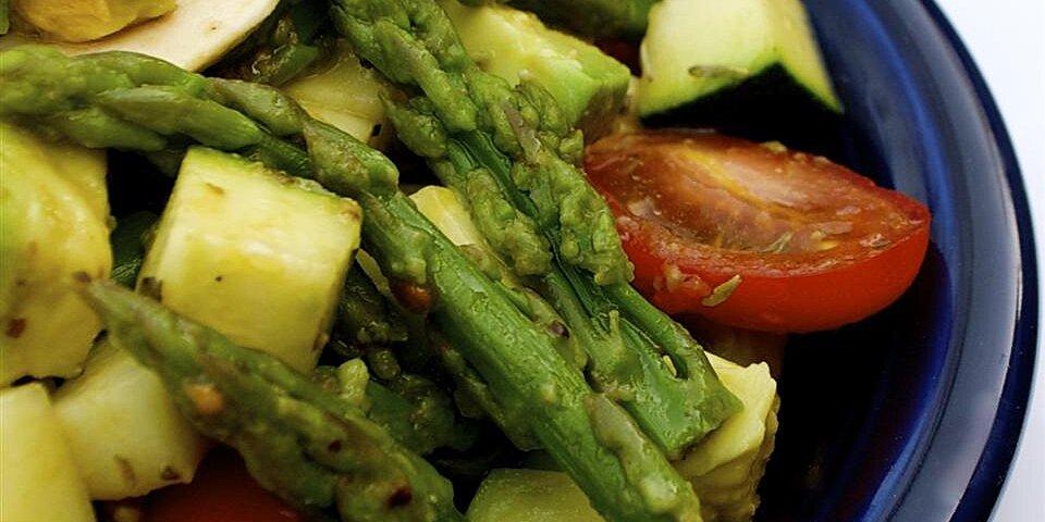 asparagus avocado medley evonne style recipe