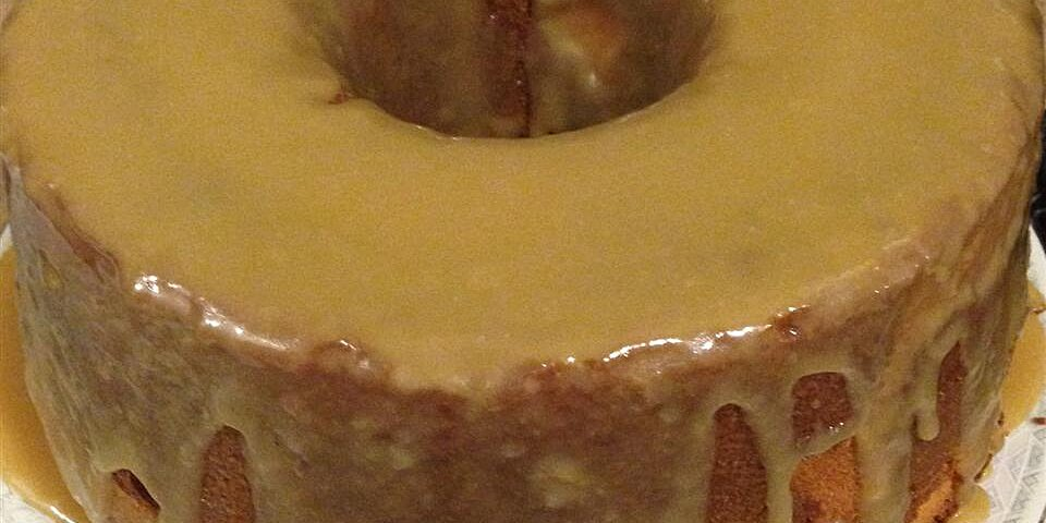 caramel pound cake recipe