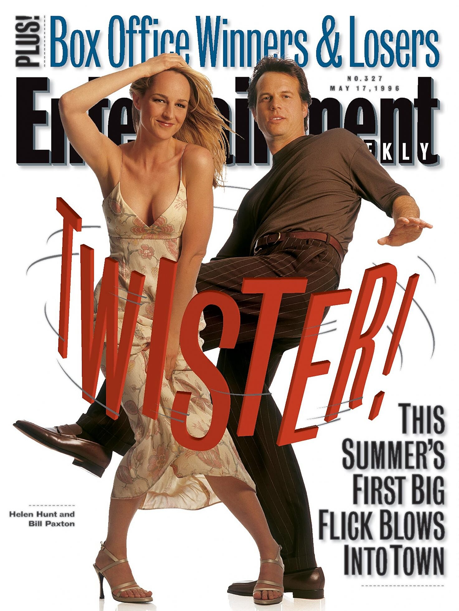 Look Back At Ew S 1996 Twister Cover With Bill Paxton Ew Com