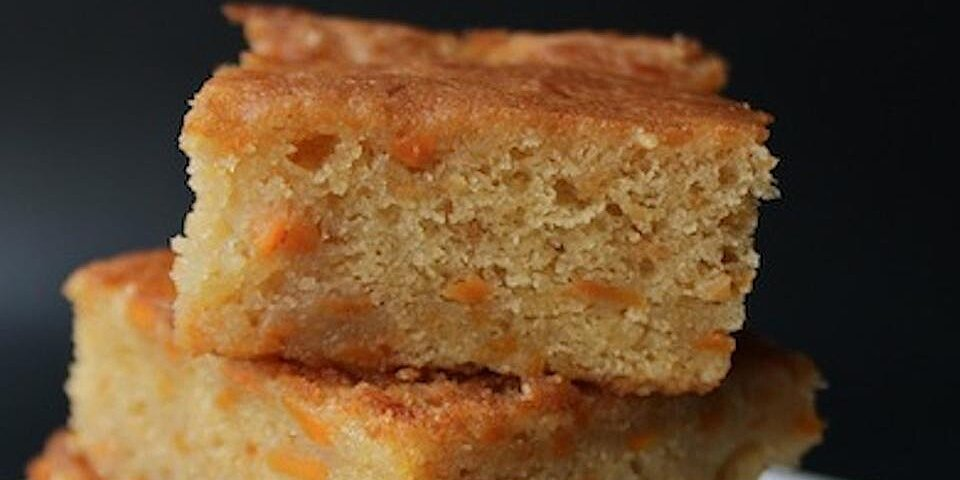 golden yam brownies recipe
