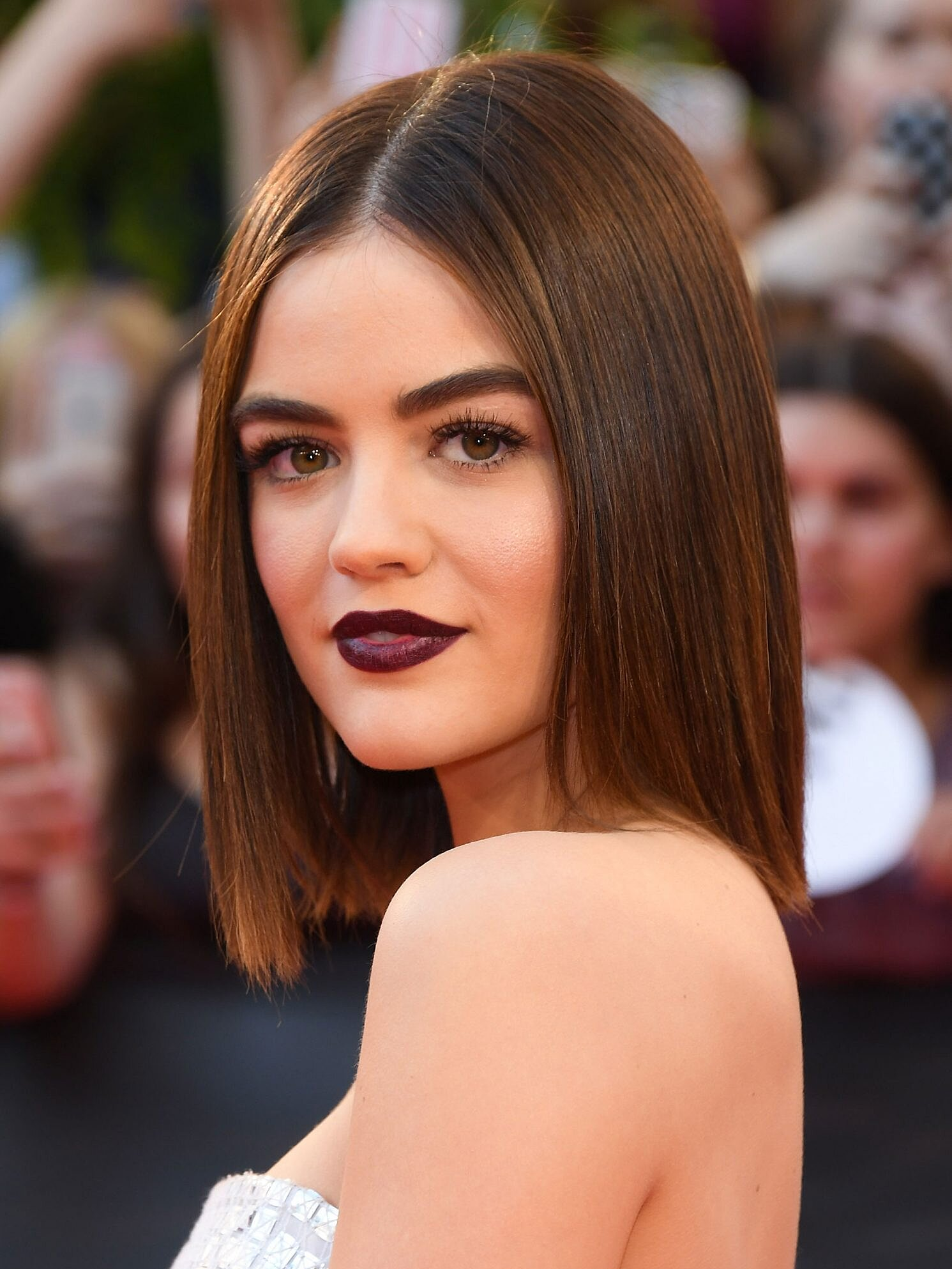 How To Cut Your Hair Into A Bob Inspired By Lucy Hale People Com