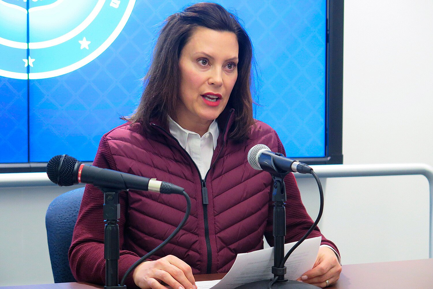 Gretchen Whitmer S Husband Made Pandemic Boat Request People Com