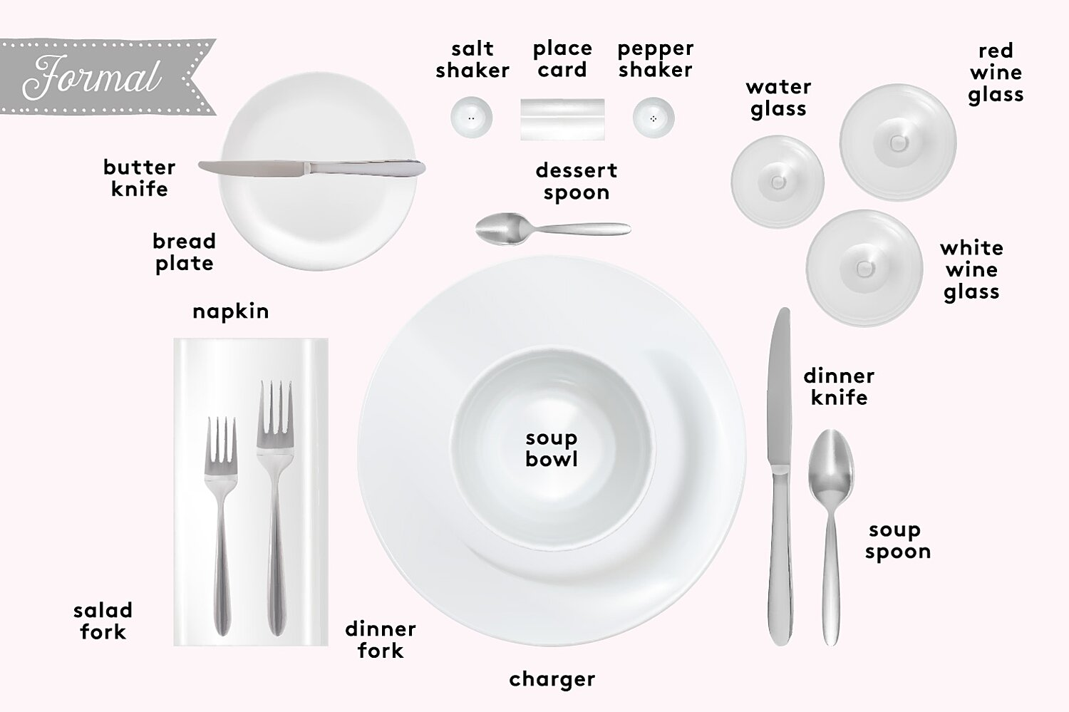 How To Set A Table Basic Casual And Formal Table Settings Real Simple