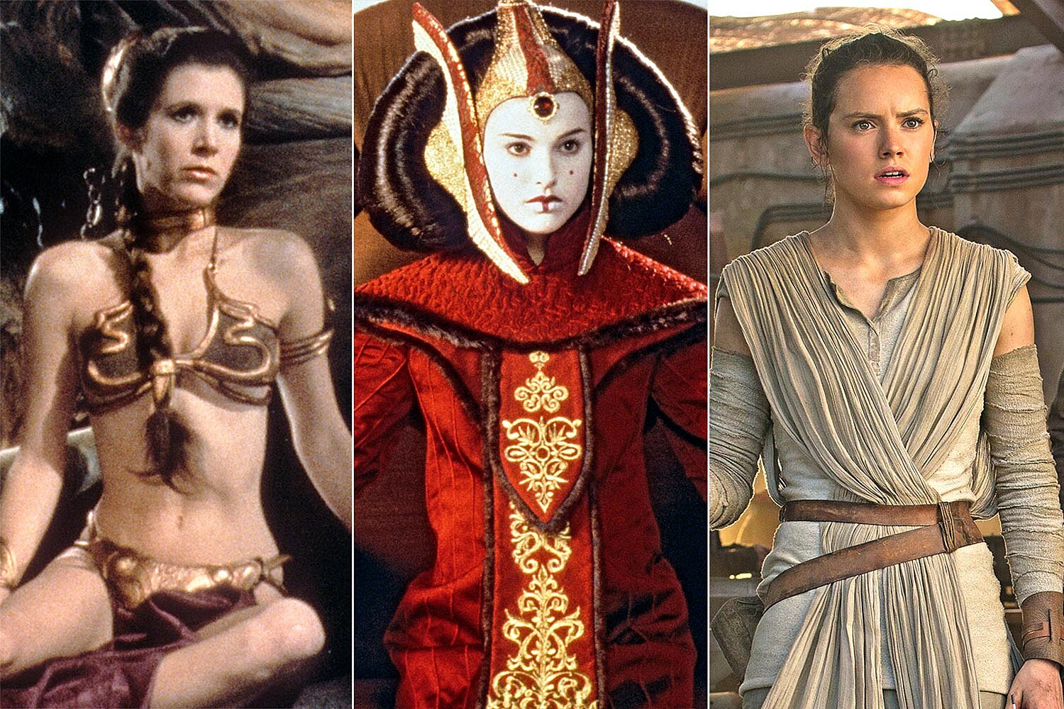 Star Wars Costumes The Looks That Defined The Galaxy Ew Com