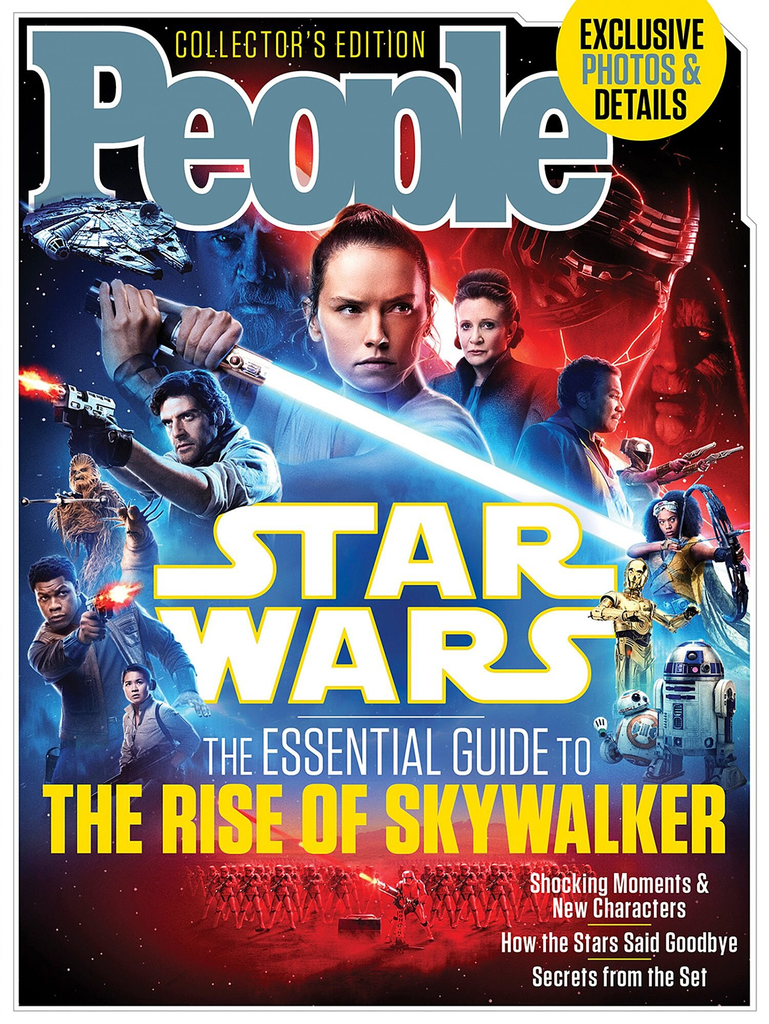 Go Inside The Epic Finale In People S Star Wars The Essential Guide To The Rise Of Skywalker People Com