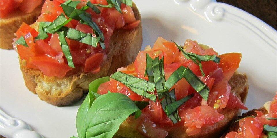 bruschetta with shallots recipe