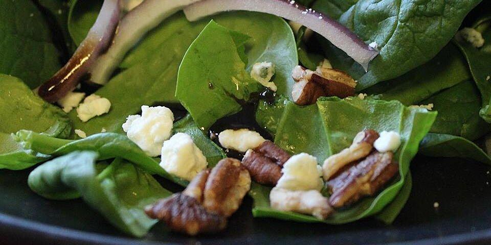 hot spinach salad recipe