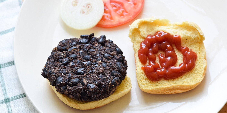 smoky black bean burgers recipe