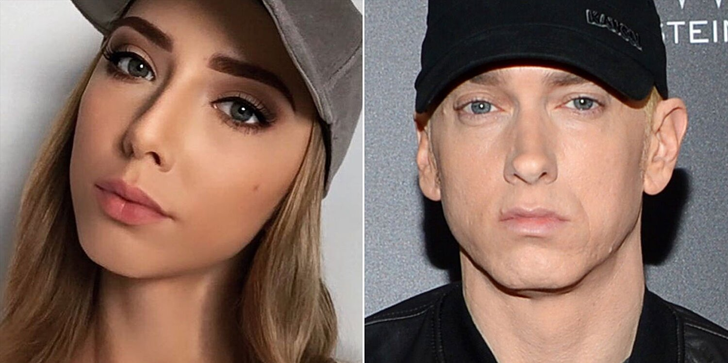 Mathers hailey Eminem's daughter