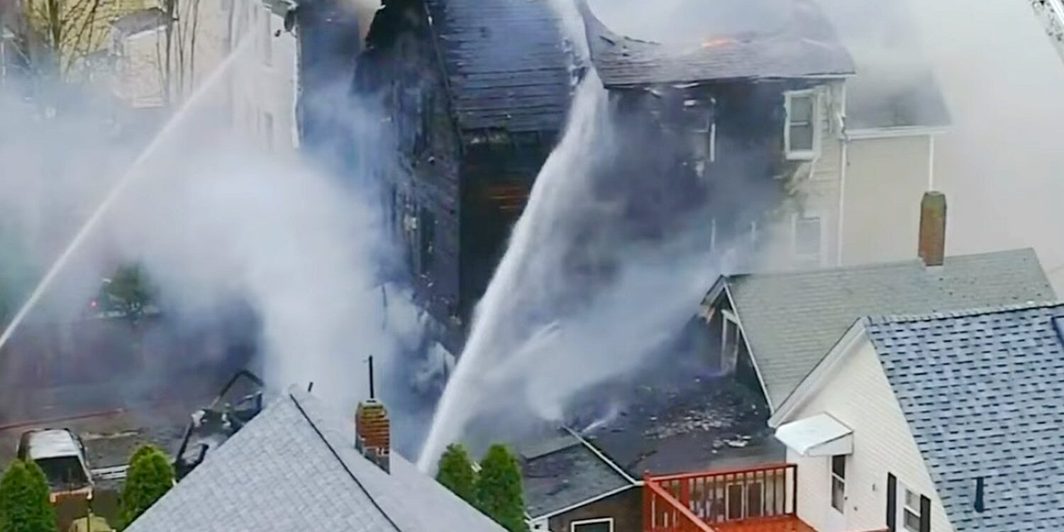 Woman Injured and 3 Homes Destroyed After Suspected Turkey Frying Mishap Sparks Blaze