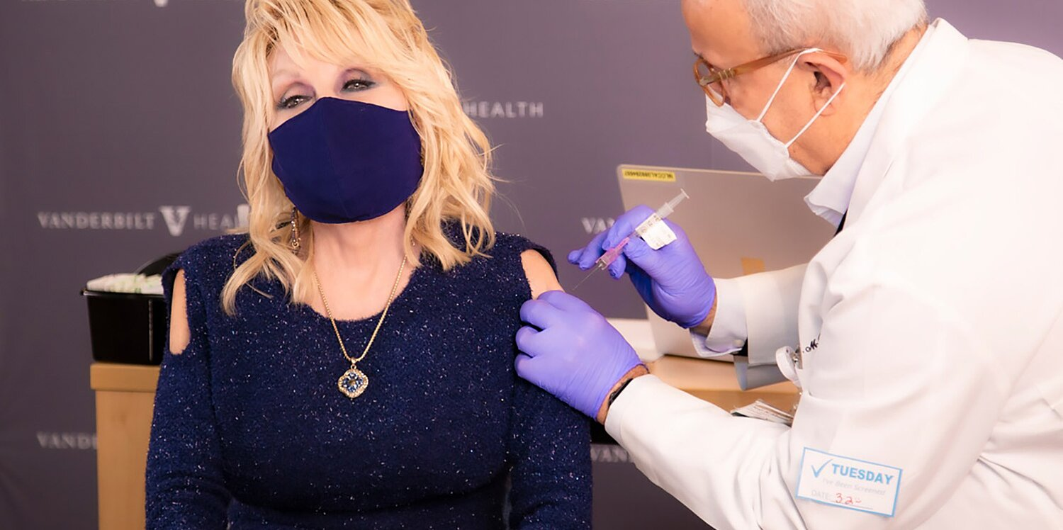 Dolly Parton Receives COVID Vaccine as She Calls for Others to Get It: 'Don't Be Such a Chicken'.jpg