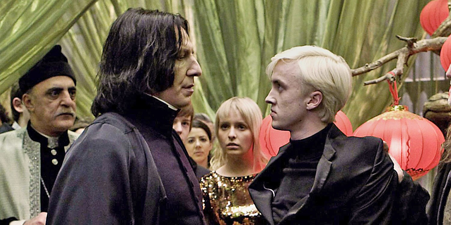 Tom Felton Says Working with Harry Potter Costar Alan Rickman Was 'Terrifying' But That He Had a 'Wicked Sense of Humor'.jpg