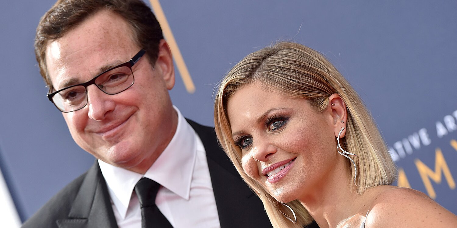 Bob Saget Comes to Candace Cameron Bure's Defense amid Comments That She's 'Fake': 'You're a Positive Person'
