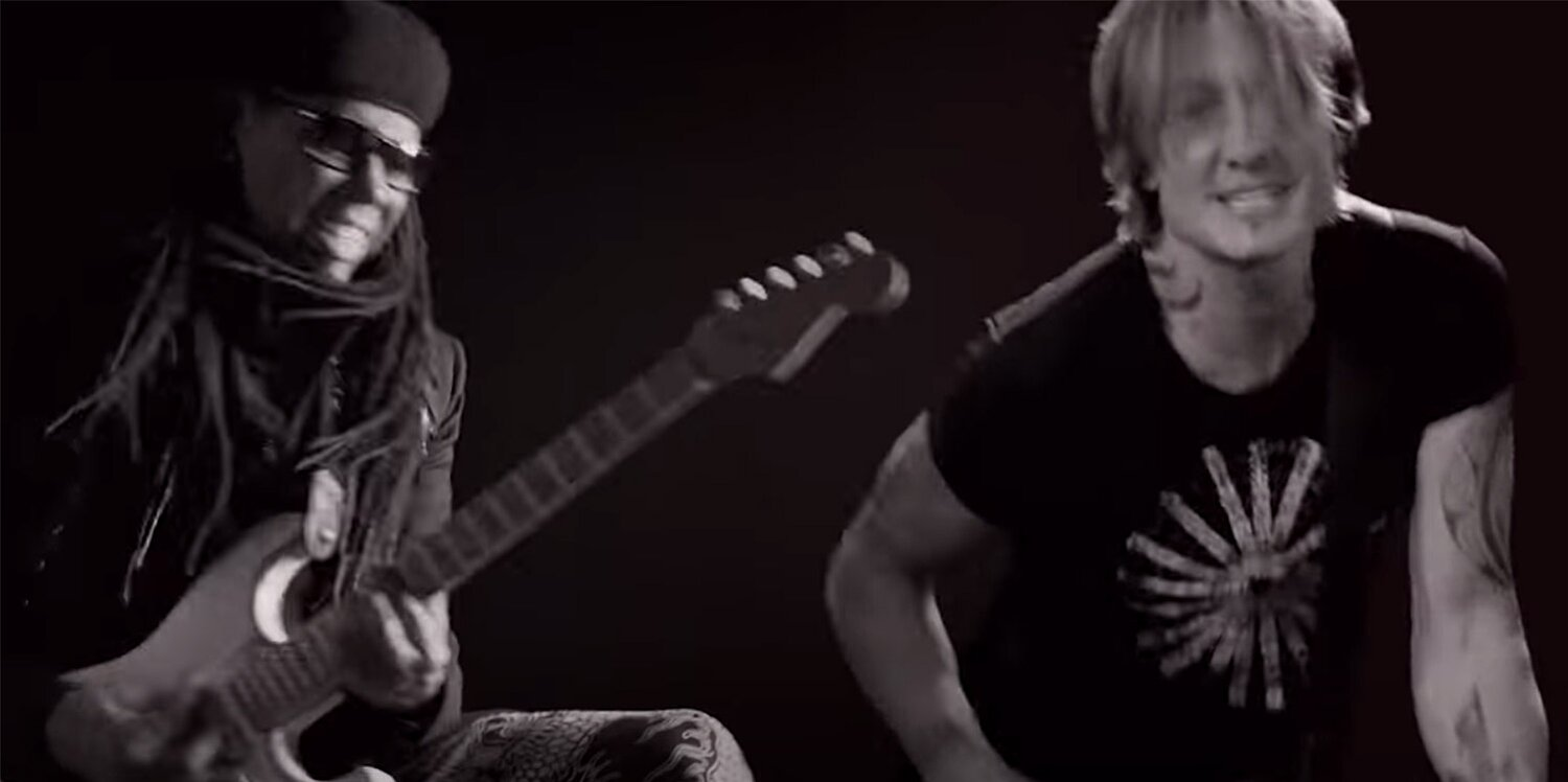 Keith Urban, Breland and Nile Rodgers Release New 'Out the Cage' Music Video: 'You Can't Break Me'