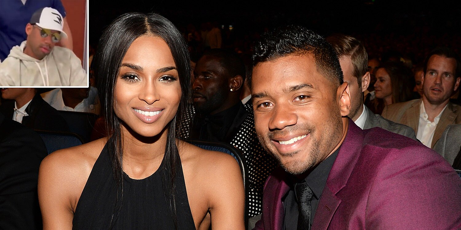 Ciara Films Russell Wilson's 'Ridiculous' Reactions After Dental Surgery: 'My Baby Was Gone'.jpg