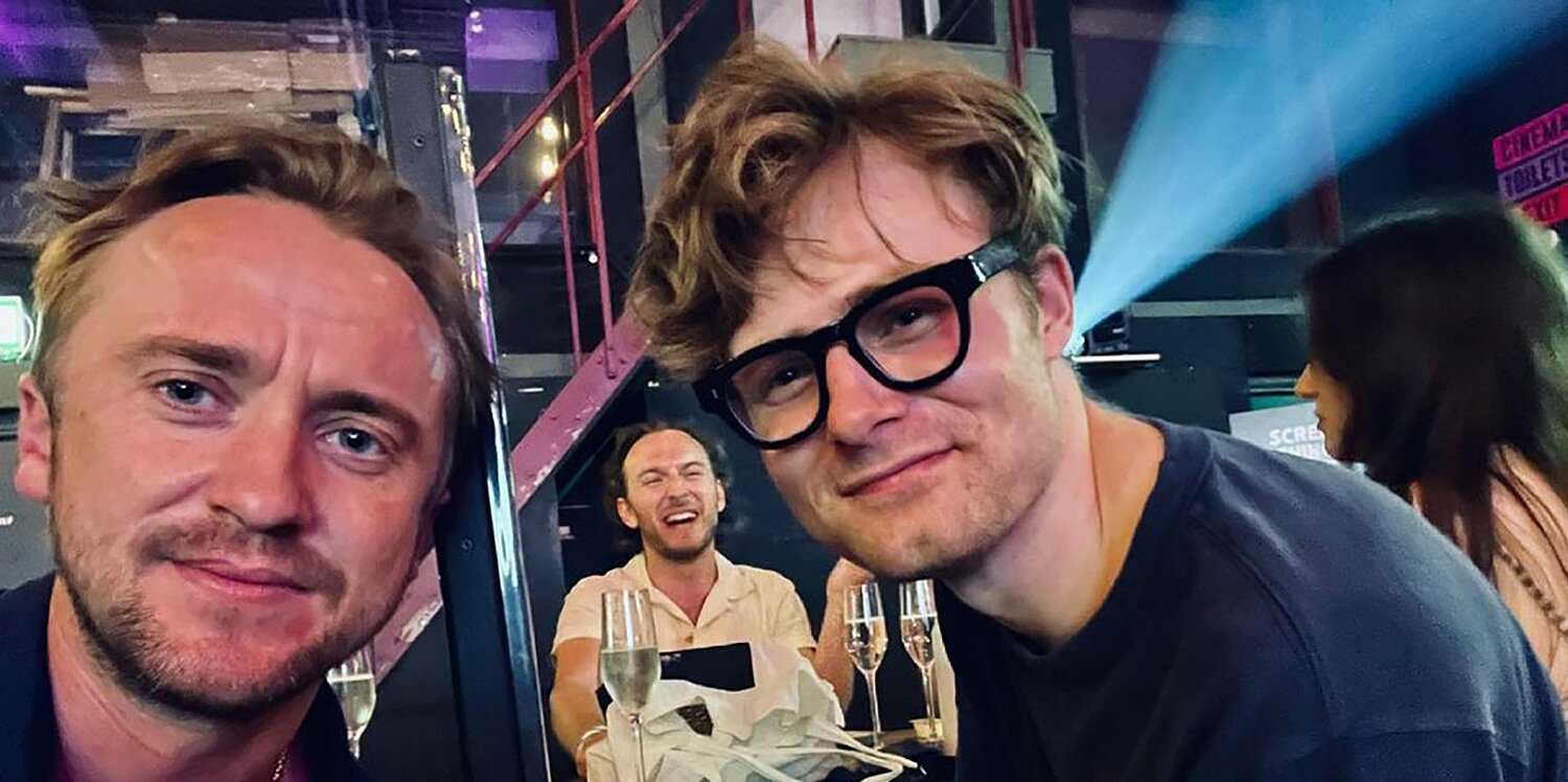 Tom Felton Has a Harry Potter Reunion with His On-Screen Son: 'When Draco Sat Next to Scorpius'.jpg