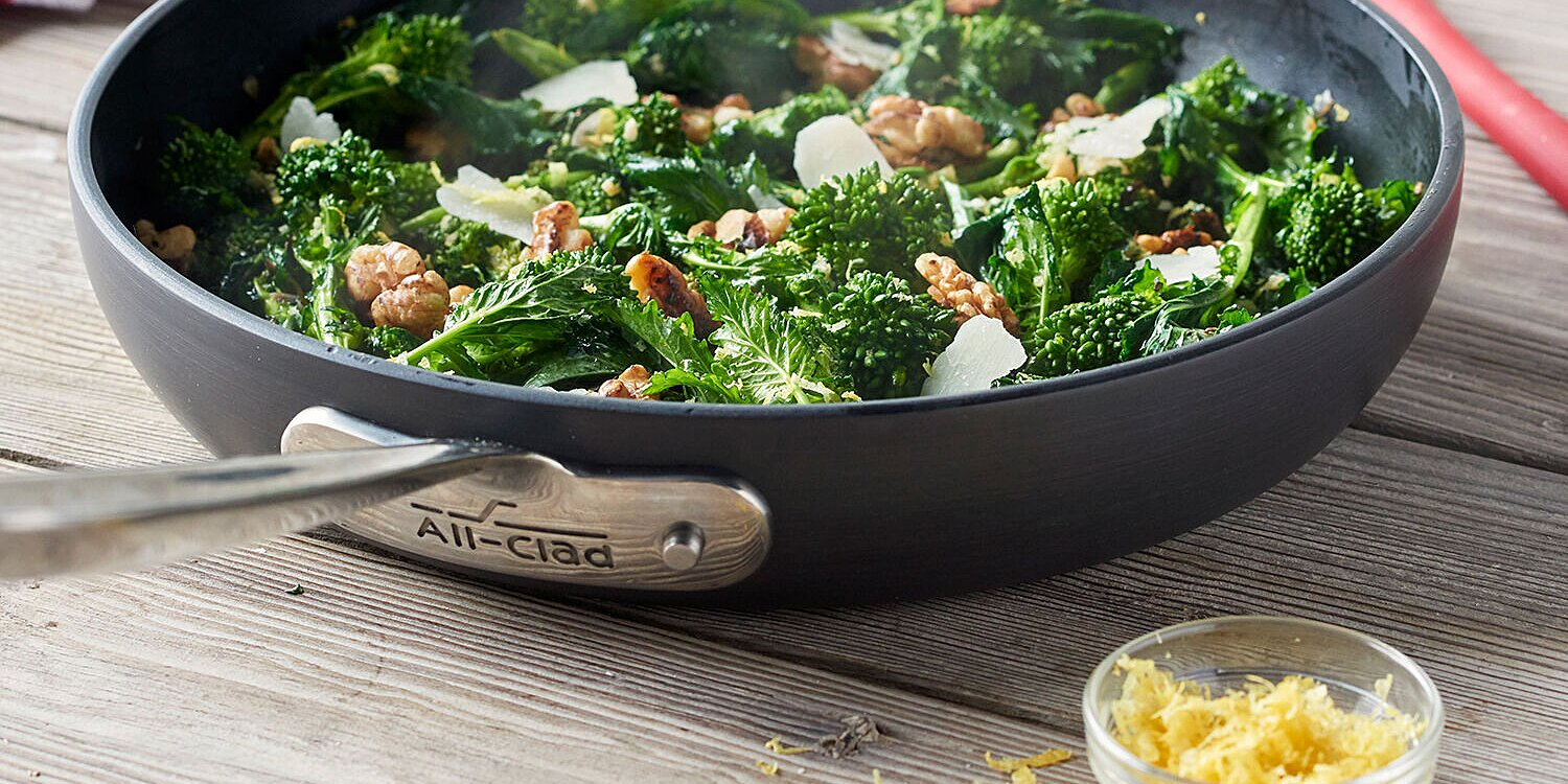 our favorite all clad nonstick skillets are 50 off right now