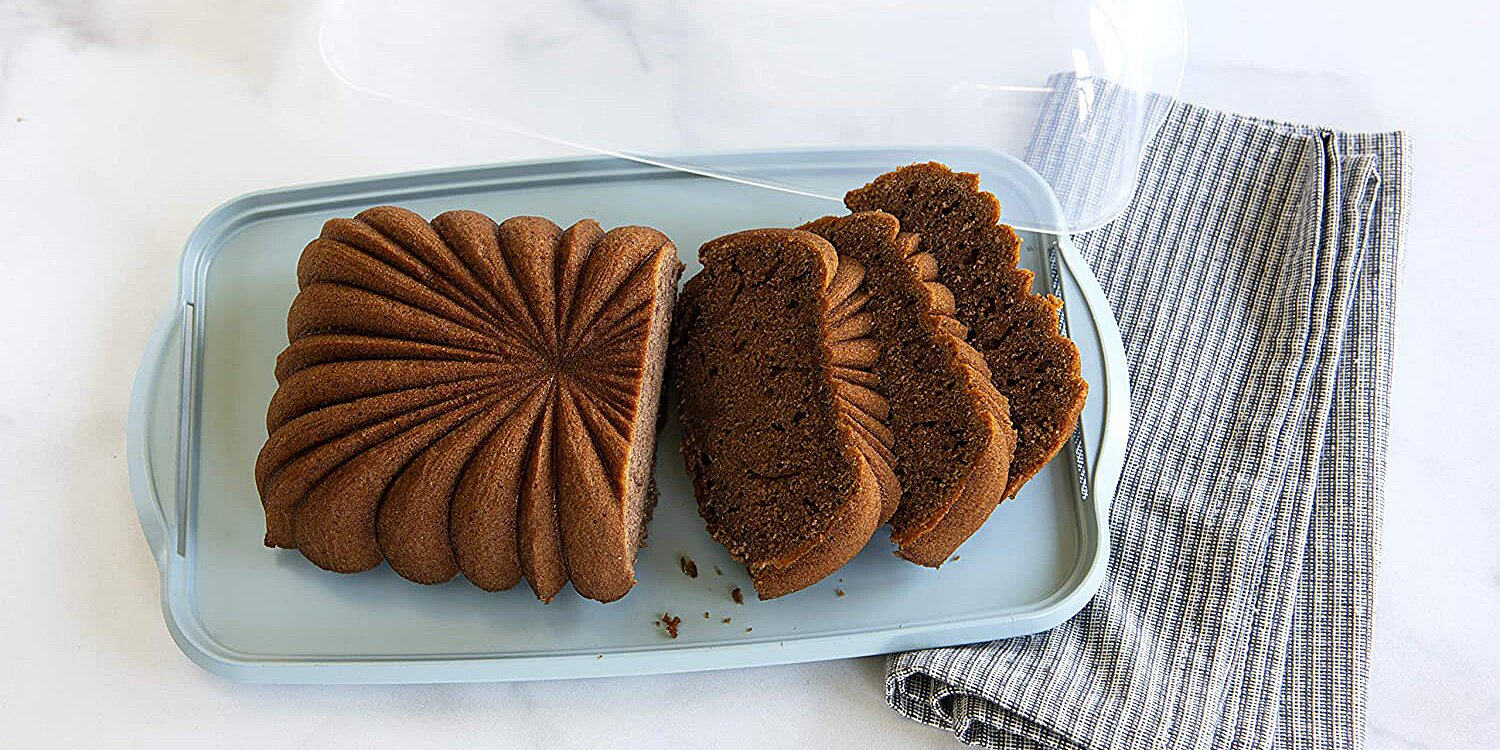 nordic wares loaf cake keeper keeps breads and cakes fresher