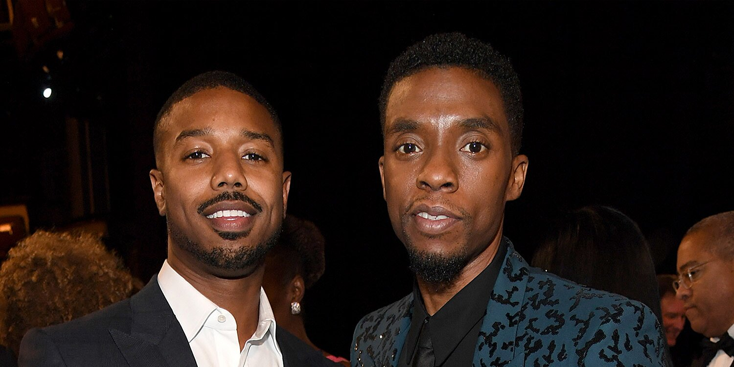 Michael B. Jordan pays tribute to Chadwick Boseman after late actor's record SAG Award nods - Entertainment Weekly