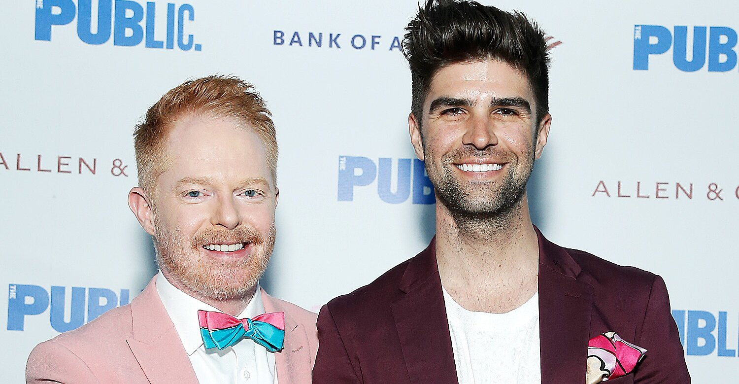 Jesse Tyler Ferguson and Justin Mikita Are 'Over the Moon' After Birth of Their First Child