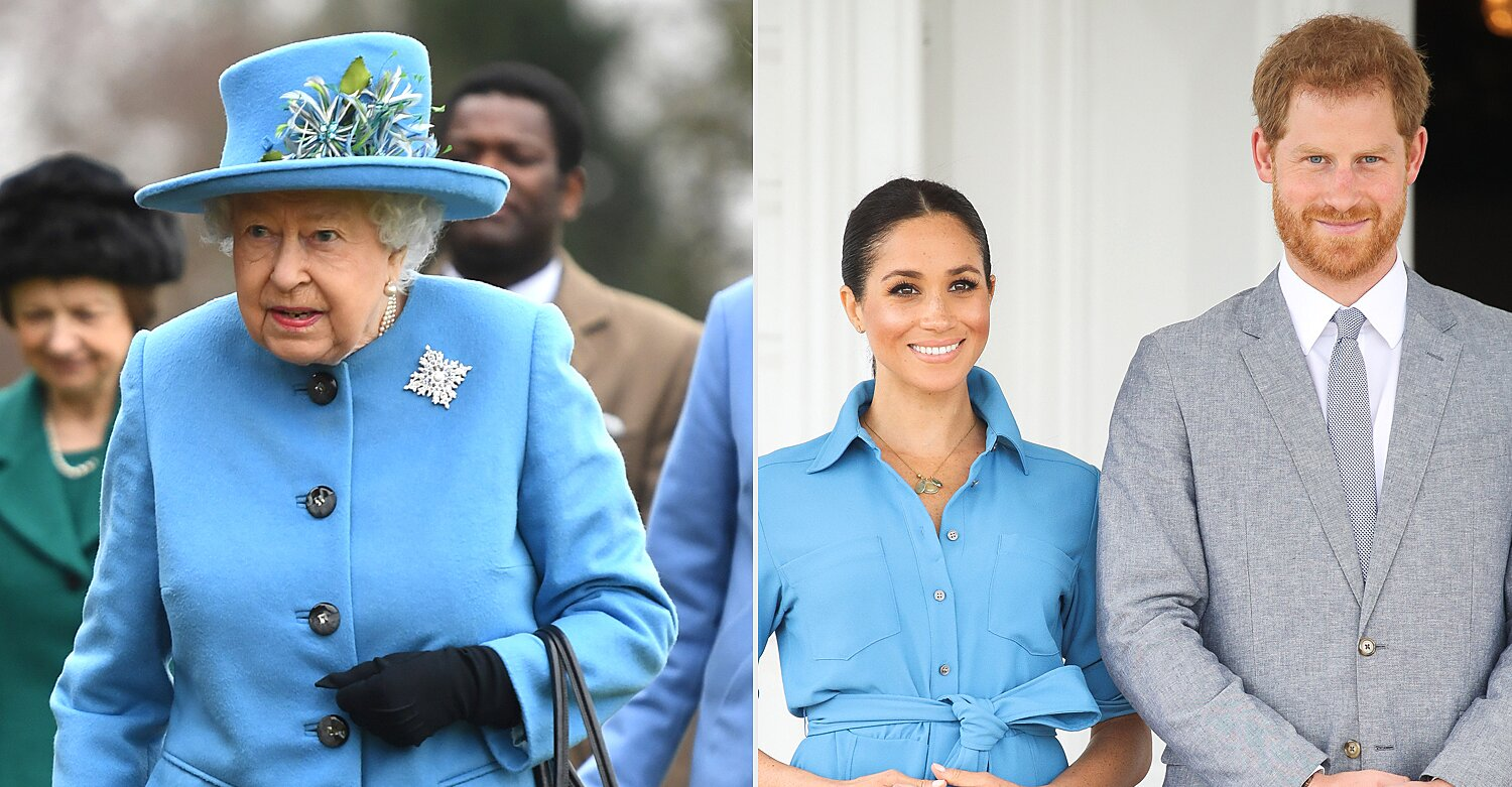 Queen Elizabeth Requests Meghan Markle and Prince Harry's Return to U.K. for Royal Event