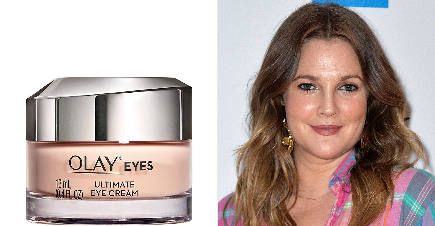 Drew Barrymore Loves The Olay Ultimate Eye Cream People Com