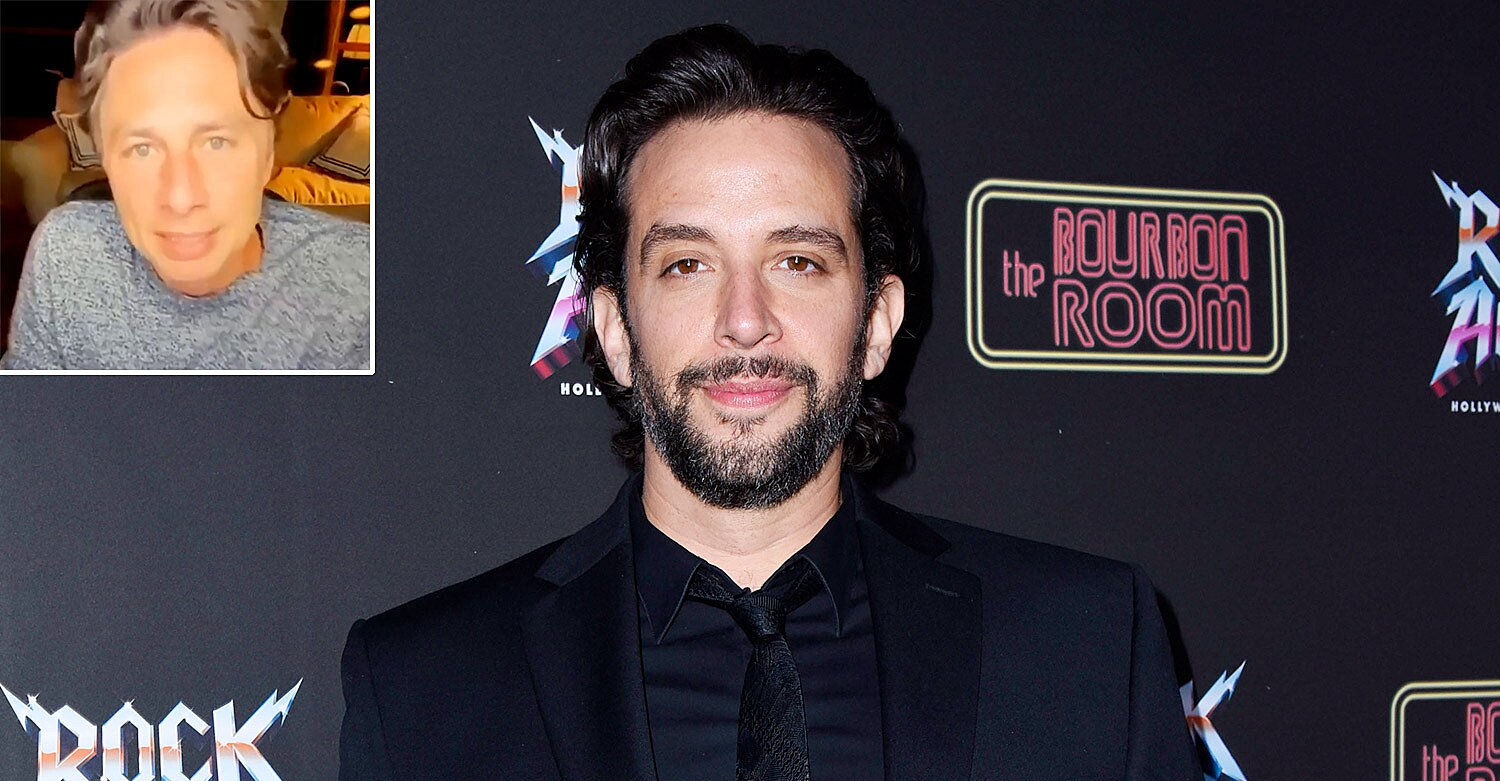 Nick Cordero Receives Sweet Tribute from Zach Braff and Rock of Ages Cast After Waking Up from Coma