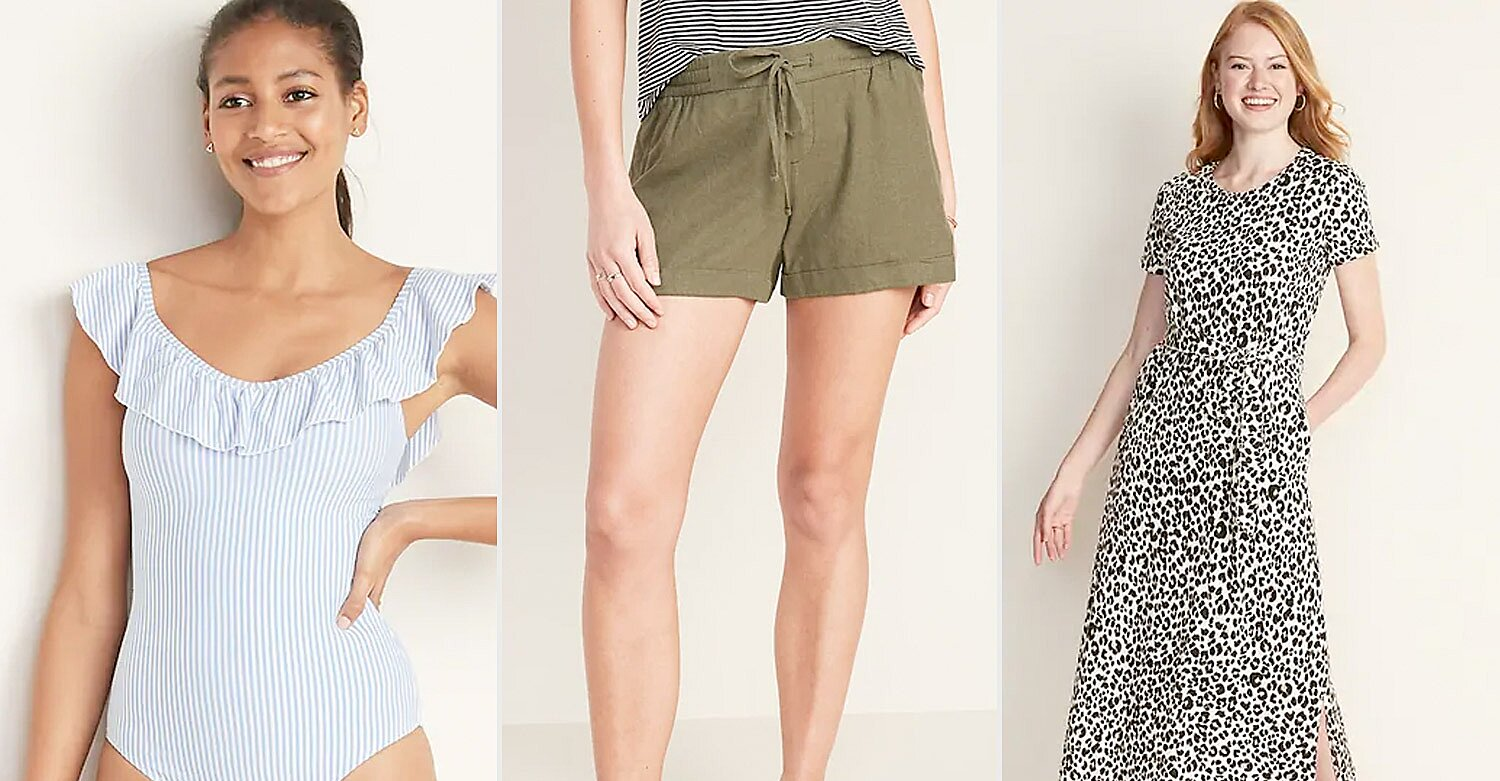 Practically Everything Is on Sale at Old Navy for Memorial Day — Prices Start at Just $7