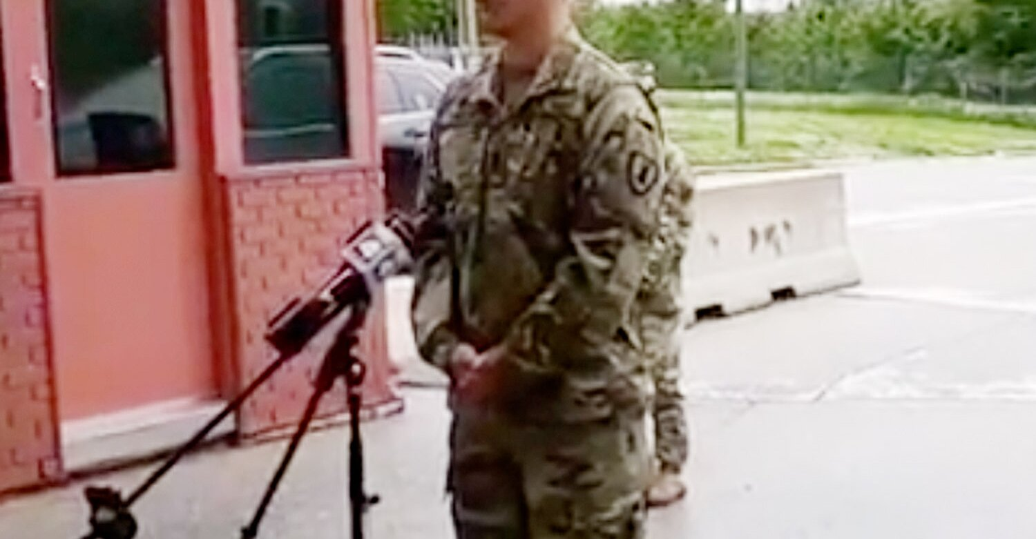 Kansas Soldier Saves 'Countless Lives' by Driving Car into Active Shooter on Bridge: Police