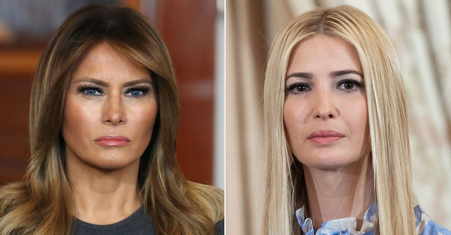 Melania Trump Blocked Ivanka from Changing 'First Lady's Office' to 'First Family Office,' Book Claims
