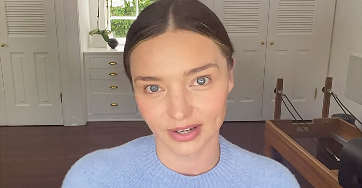 Miranda Kerr Shares Video Tutorial for Her 'Quarantine Date Night' Skincare and Makeup Look