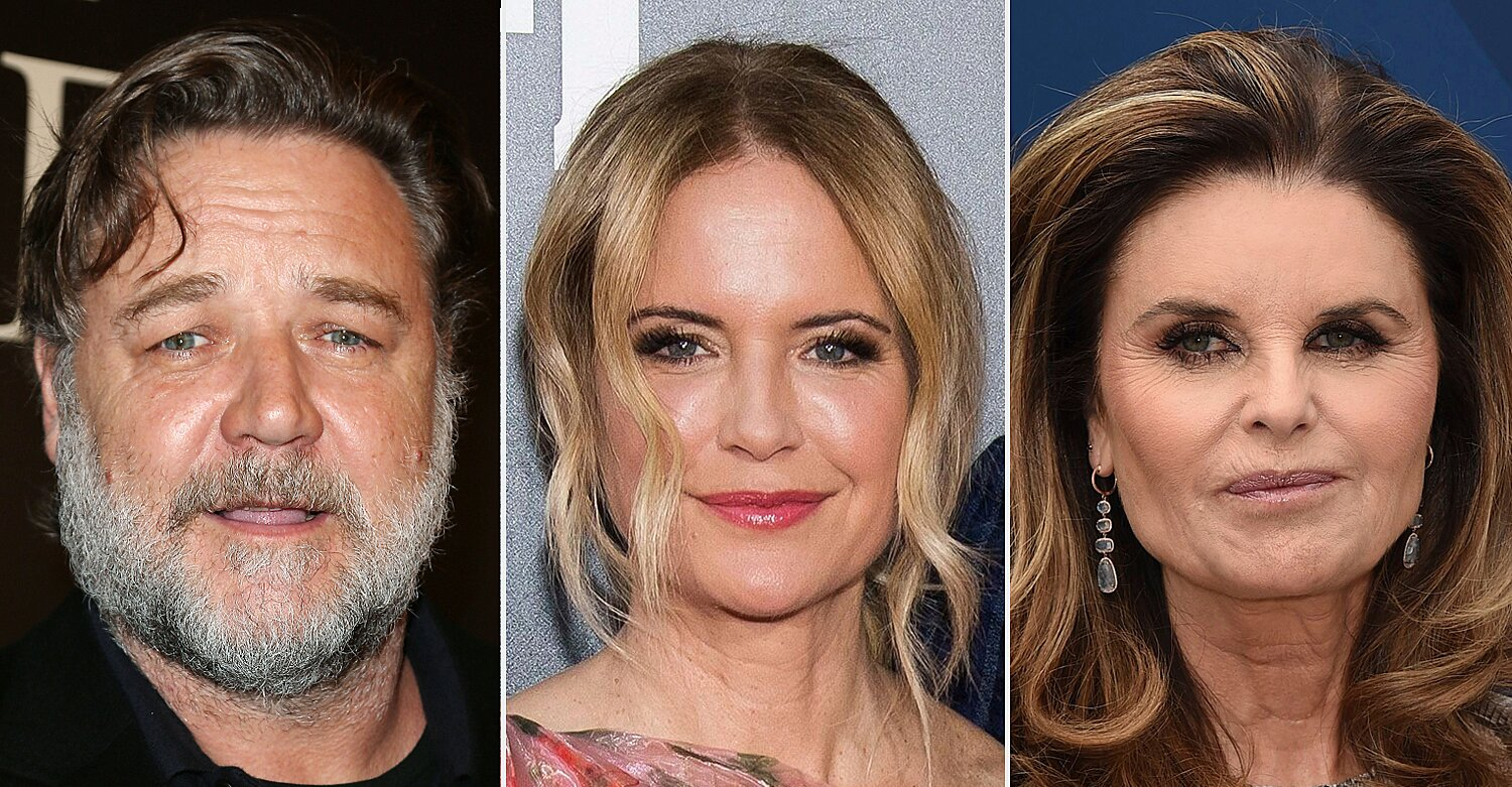 Russell Crowe, Maria Shriver, More Pay Tribute to Kelly Preston: 'She Will Be So Missed'