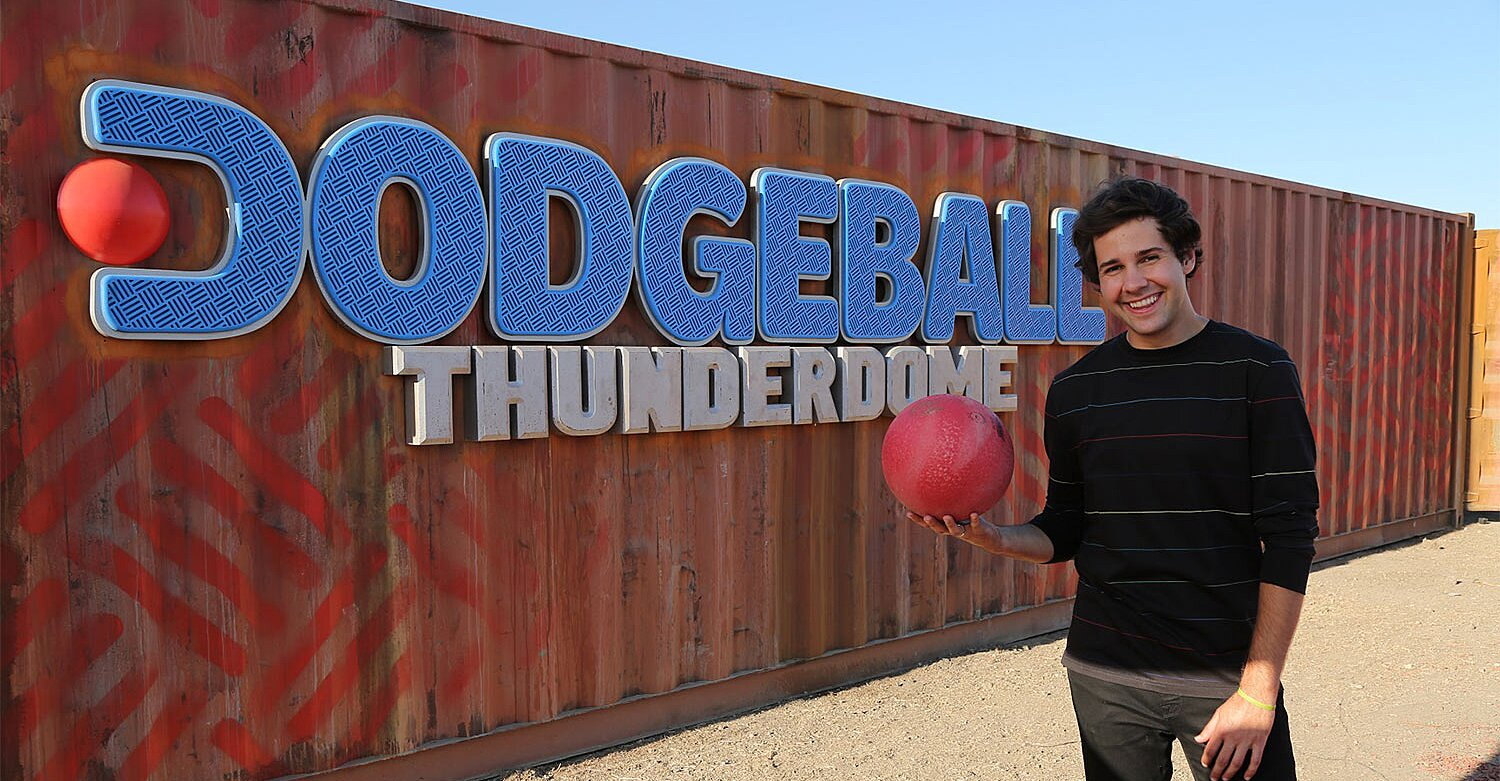 First Look: YouTube Star David Dobrik Hosts Dodgeball Thunderdome