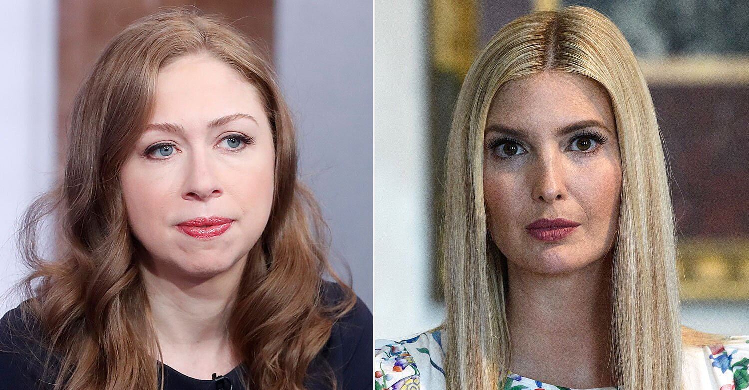 Chelsea Clinton Says She No Longer Speaks to One-Time Friend Ivanka Trump: 'I Have No Interest' 1