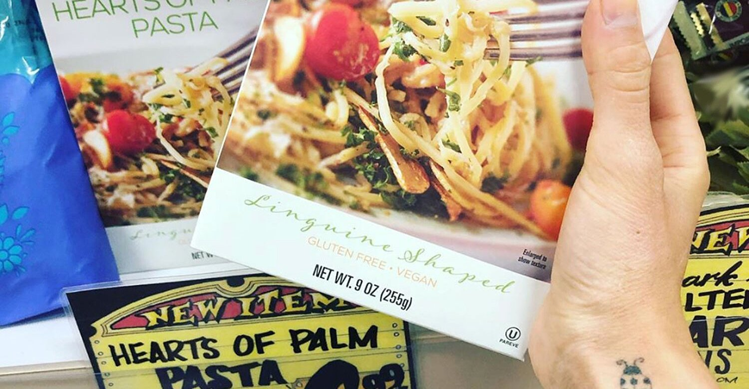 """Trader Joe's Hearts of Palm """"Pasta"""" Has Only 4 Grams of Carbs Per Serving"""