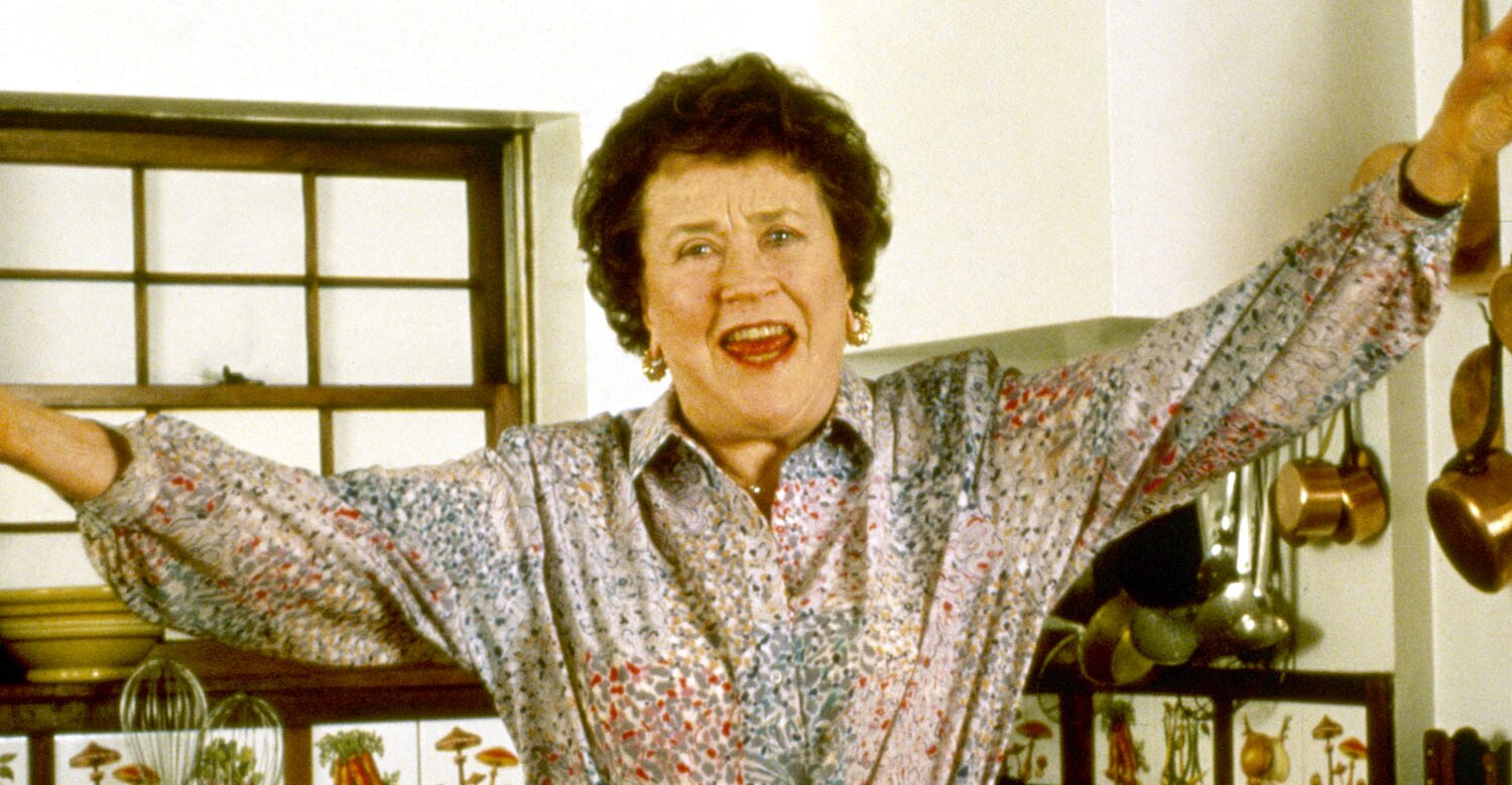 Julia Child Served This Really Surprising No-Cook Appetizer Before Thanksgiving Each Year