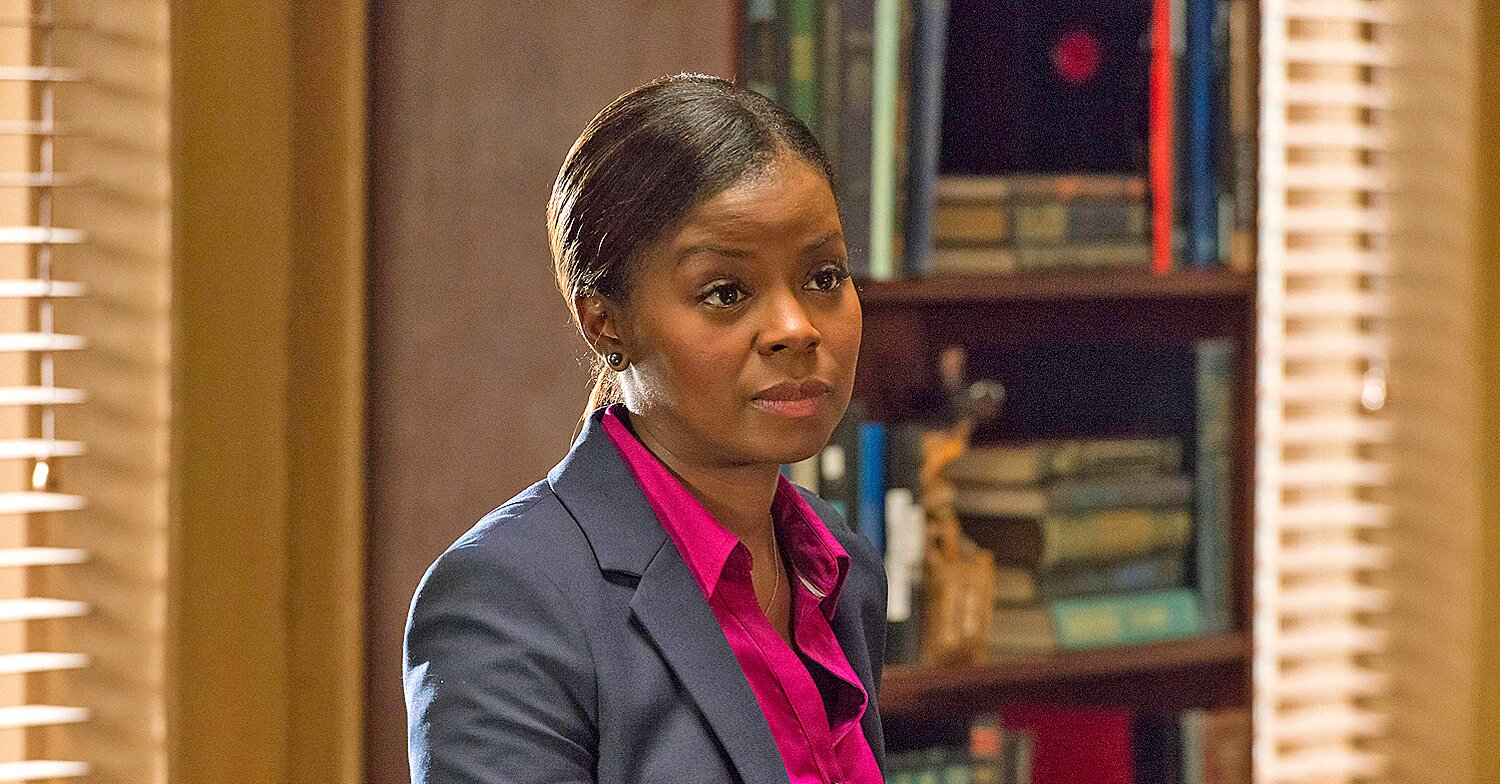 Justified Postmortem Erica Tazel Talks Rachel S Past And How To Manage Raylan Givens Ew Com Erica tazel is a voice actor in mafia iii. entertainment weekly