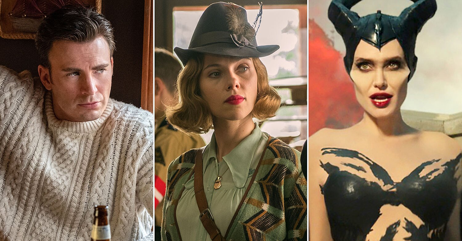 Chris Evans' 'Knives Out' sweater, 'Jojo Rabbit' win Costume Designers Guild Awards