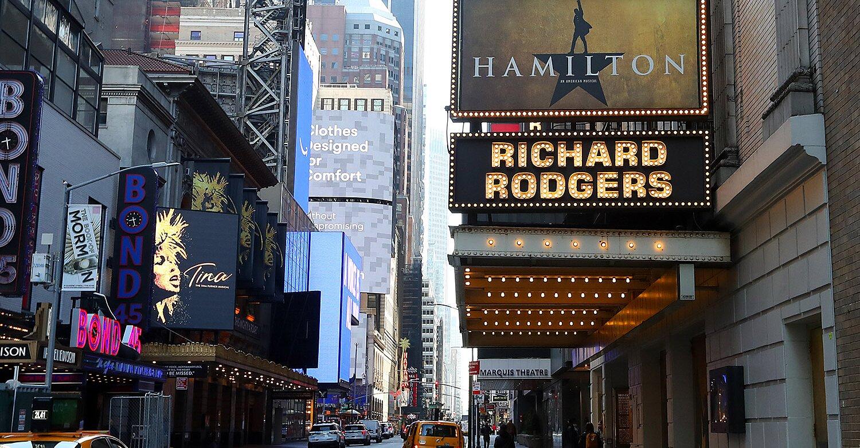 Broadway theaters extend shutdown to June in response to coronavirus pandemic