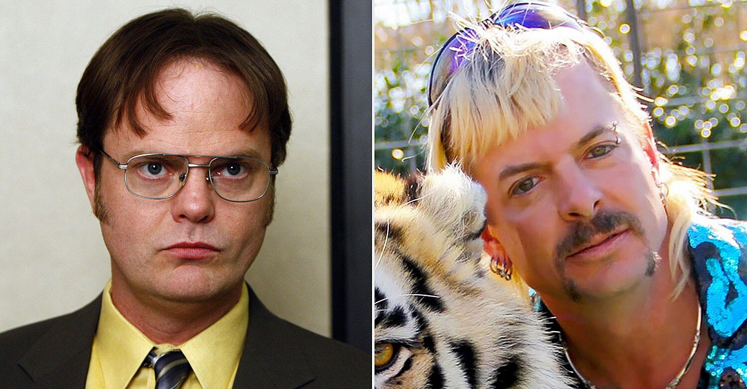 Rainn Wilson Says Dwight Schrute Would Ve Watched Tiger King And Opened A Zoo Ew Com