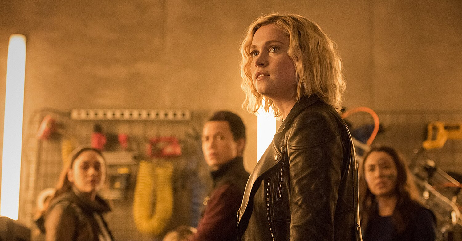 'The 100' recap: And they're back on Earth (again)