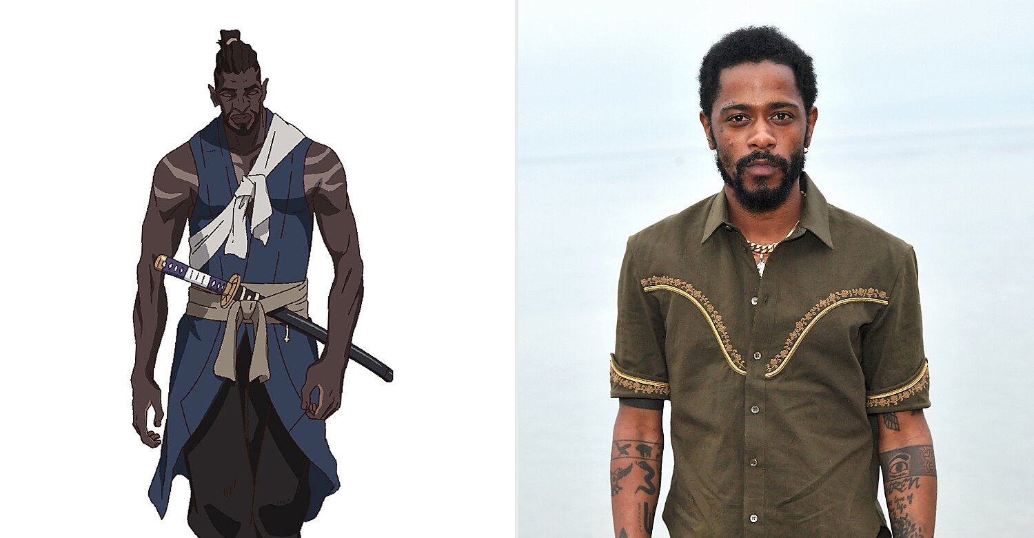 Lakeith Stanfield to play first African samurai in Netflix's 'Yasuke' anime