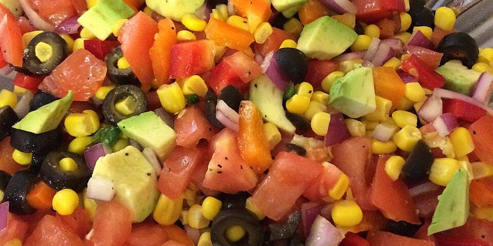 tomato corn and avocado salsa recipe