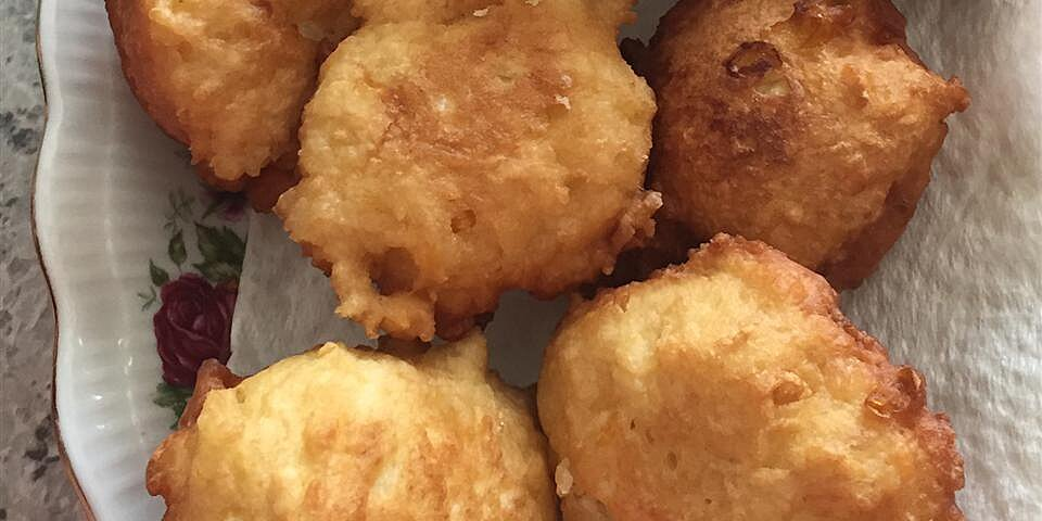 corn fritters with maple syrup recipe